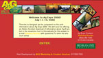 Web design for MSU's Ag Expo