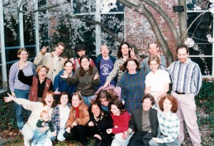MSU Writing Center crew from 1996
