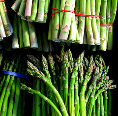 Asparagus! Credit to Esteban Cavrico on Flickr.com.