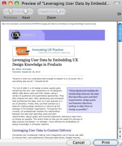 UXMatters print page