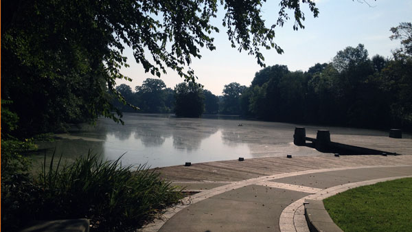 Lake in Piedmont Park